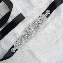 Rhinestone Bridal Sash Belt for Wedding Party Prom Evening Dresses
