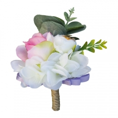 Lavender Rose Boutonniere Pin for Prom Wedding Party
