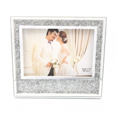 "5x7""8x10"" Bling Rhinestones Anniversary Photo Picture Frame"