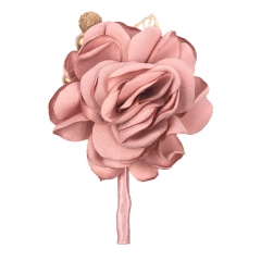 Blush Pink Boutonniere Pin for Prom Party Wedding