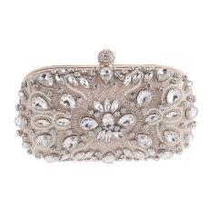 Exquisite Sparkle Rhinestones Decorated Women's Evening Clutch